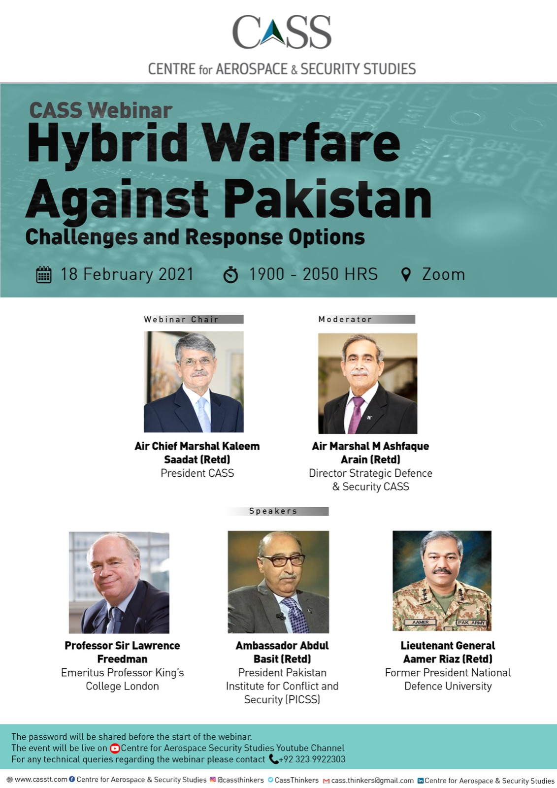 Hybrid Warfare Against Pakistan:  Challenges and  Response Options