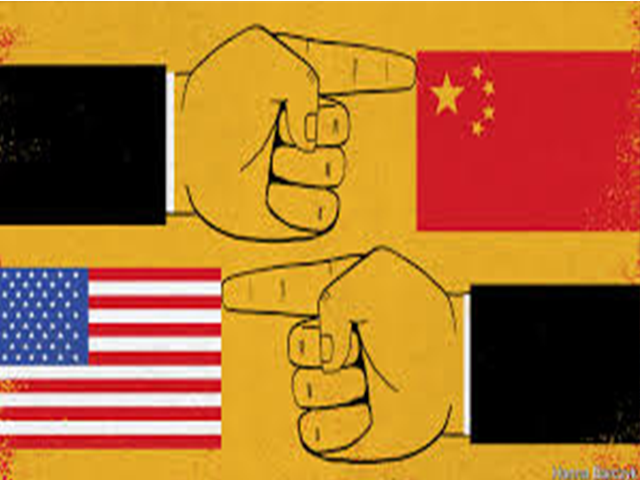 Sino-US Tensions During Covid-19