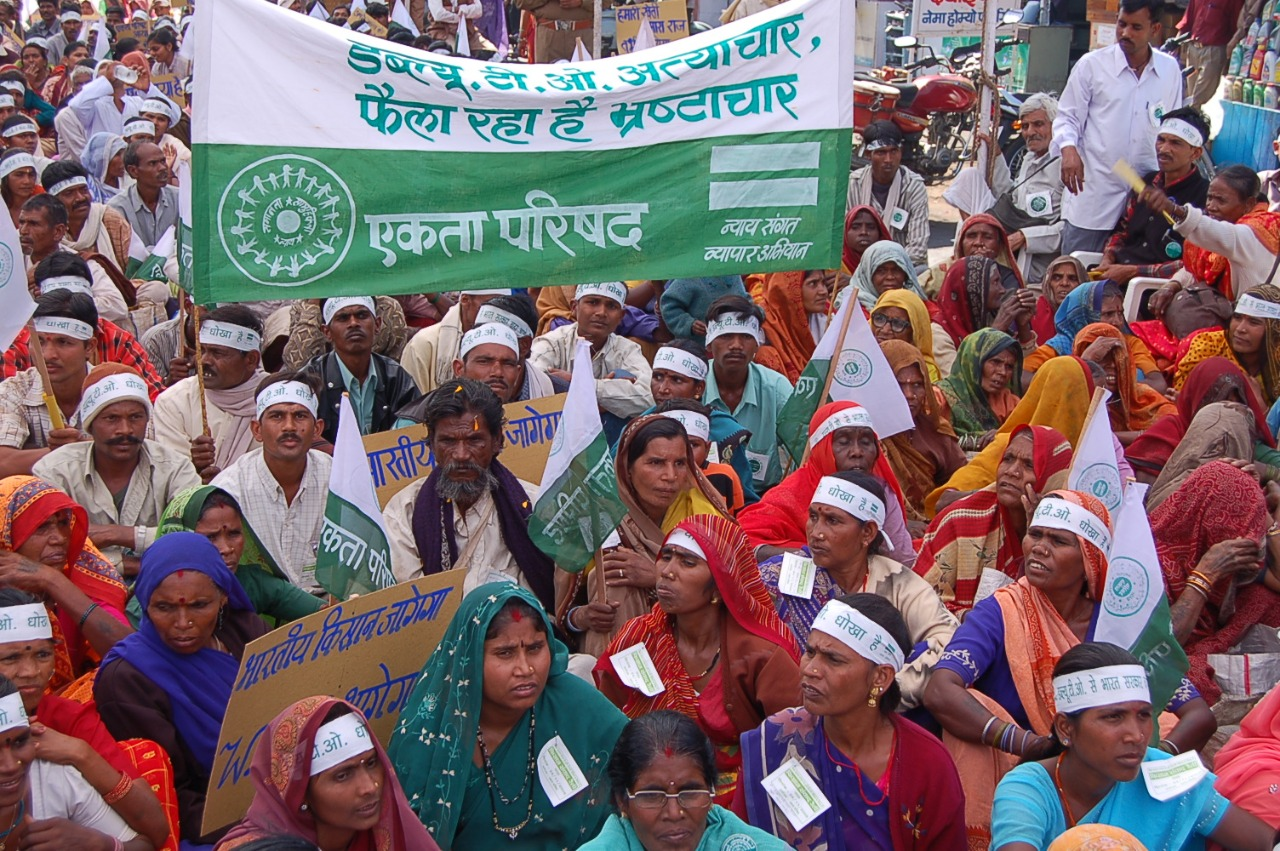 Protesting Farmers and the Indian Agrarian System