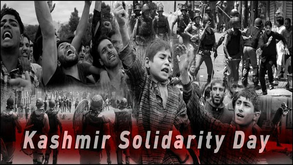 In Solidarity with the People of Indian Illegally Occupied Jammu and Kashmir