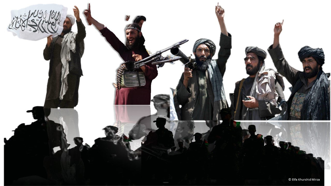 Taliban Offensive and Abject Surrender of Afghan Forces
