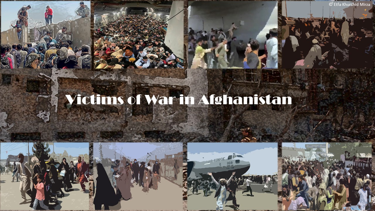 Victims of Wars in Afghanistan